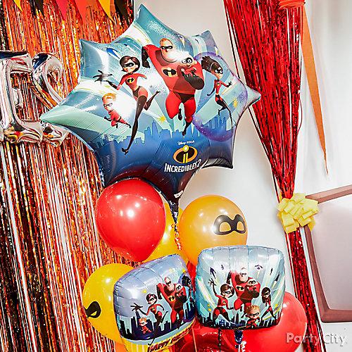 Incredibles Balloon Bouquet Idea