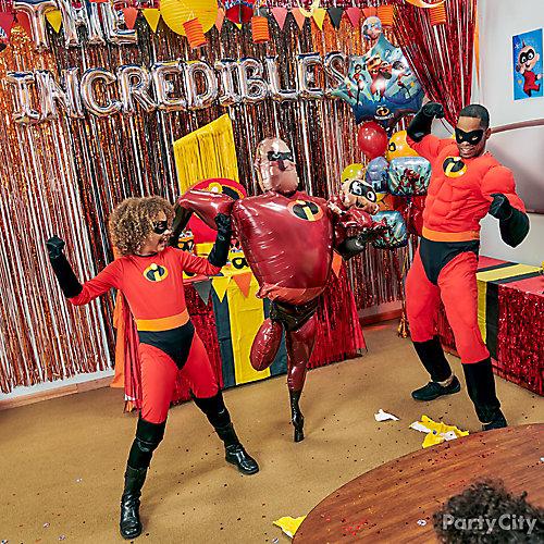 Incredibles Balloon Photo Op Idea