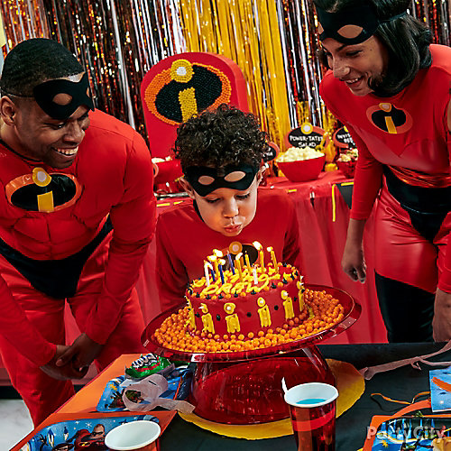 How to make an Incredibles birthday cake