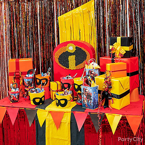 Incredibles Table Decor How-To