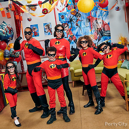 Incredibles Costumes Idea