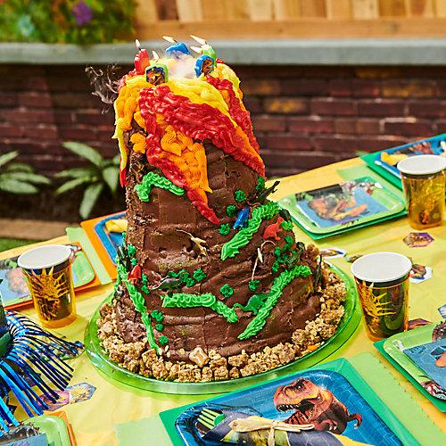 Jurassic World Volcano Cake