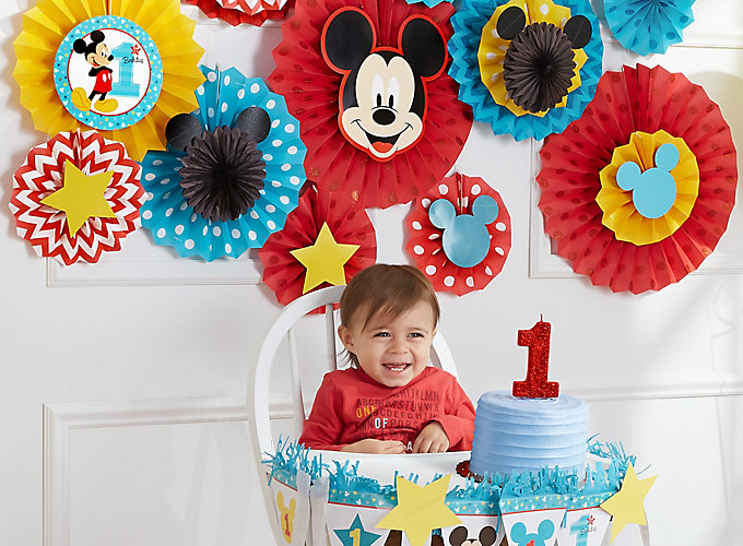Mickey Mouse First Birthday Ideas