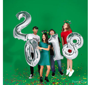 Number Balloons Graduation Photo Prop Idea