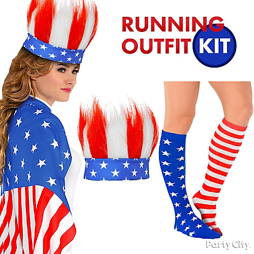 4th of July Race Day Outfit Idea