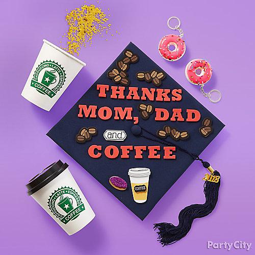 Say Thanks Grad Cap Decorating Kit Idea