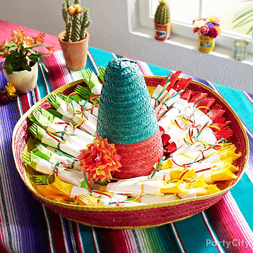 Sombrero Cutlery Display Idea