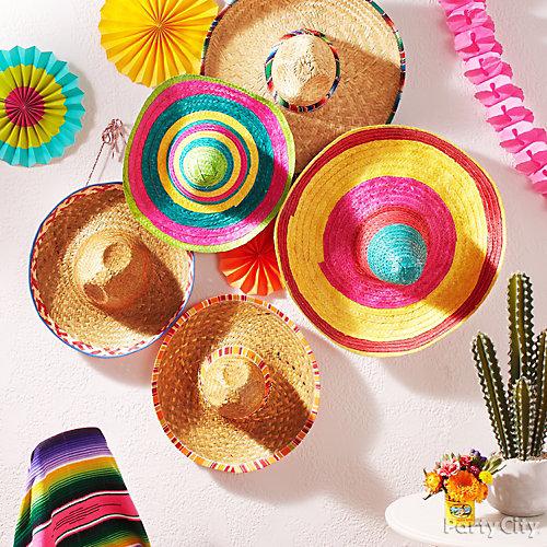 Sombrero Wall Decoration Idea