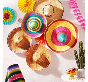 Sombrero Wall Decorating Idea