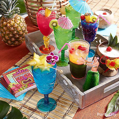 Luau Tiki Bar Styling Idea. Idea Name