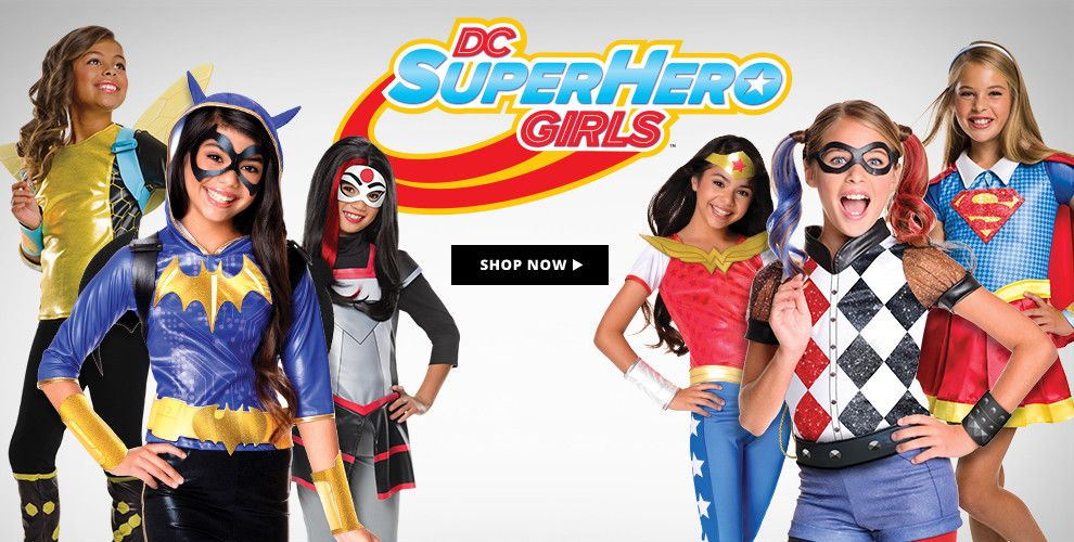 DC Comics Costumes & Accessories Shop Now