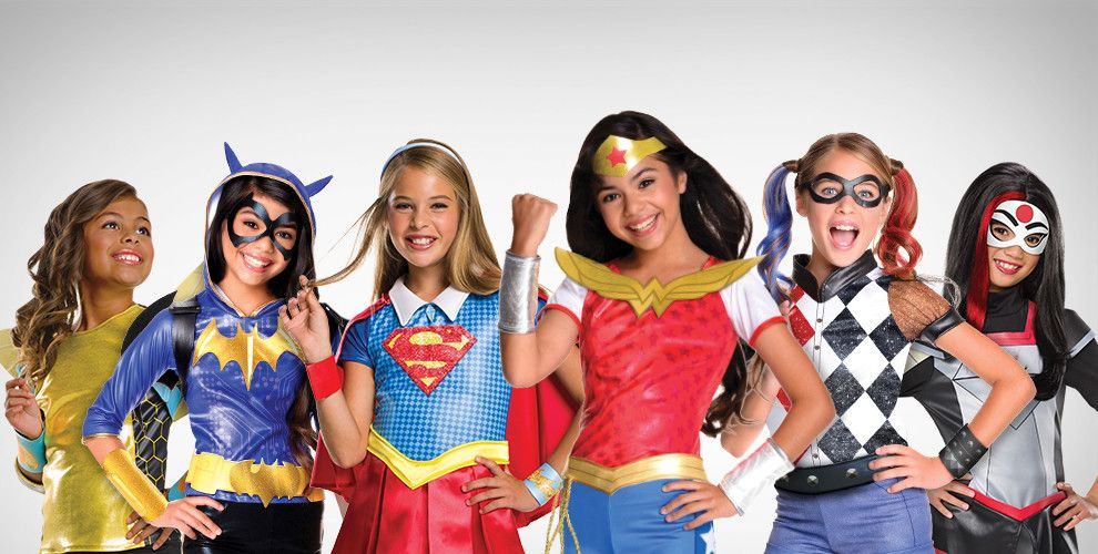 DC Superhero Girls Costumes & Accessories
