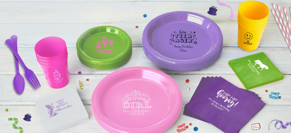 Personalized Girls Birthday Products