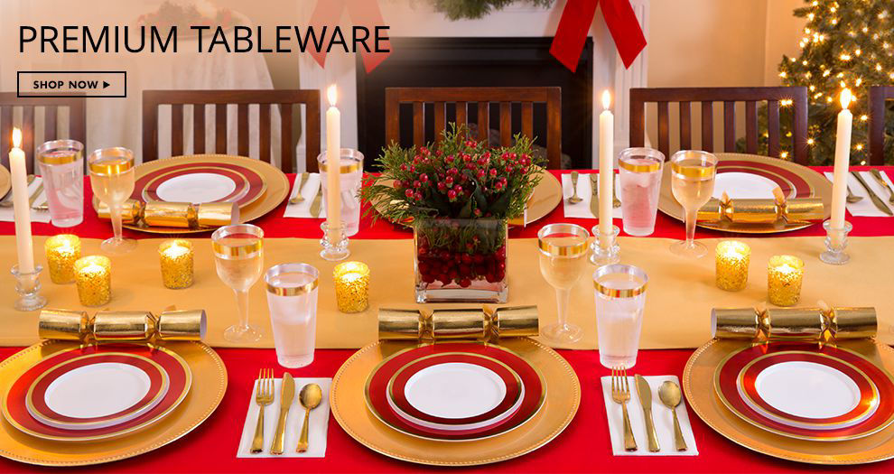 Shop Now Premium Tableware