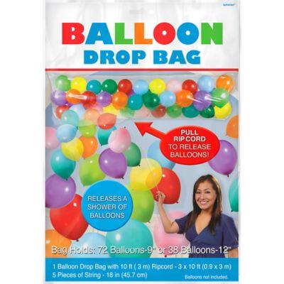 Balloon Drop Bag Party City
