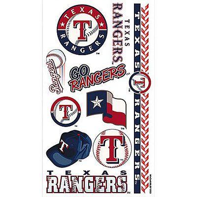 Texas Rangers Tattoos 10ct