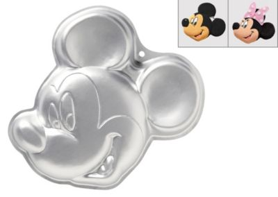 Incredible Wilton Mickey Mouse Cake Pan 13In X 12In Party City Funny Birthday Cards Online Barepcheapnameinfo