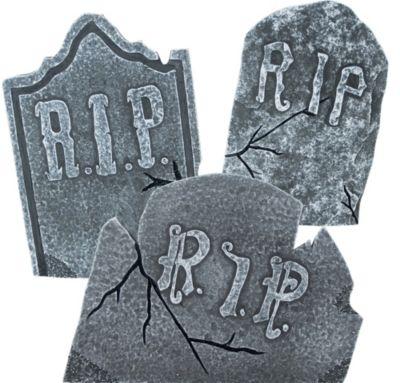 RIP tombstone set