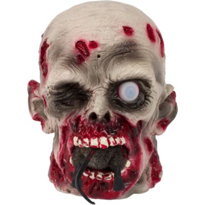 Rat-Eating Zombie Head 9in | Party City on halloween lights ideas, halloween magic ideas, halloween skeleton ideas, zombie hair ideas, zombie tattoo ideas, halloween games ideas, halloween treats ideas, halloween vampire ideas, halloween horror ideas, scary halloween decorations ideas, halloween door decorations ideas, halloween decor ideas, halloween frankenstein ideas, halloween coffin ideas, zombie clothes ideas, halloween candy ideas, halloween hurricane ideas, zombie makeup ideas, zombie dress ideas, good zombie ideas,