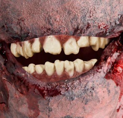 zombie teeth 2pc party city