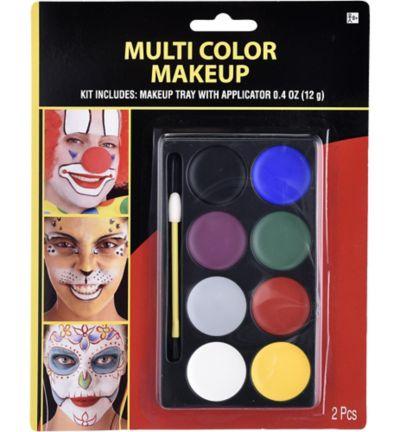 Multicolor Makeup Kit 2pc | Party City