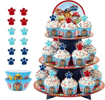 Deluxe Paw Patrol Cupcake Kit For 24 Paw Patrol Party