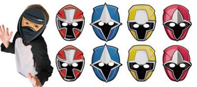 Power Rangers Ninja Steel Masks 8ct | Party City