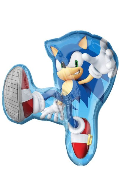 Giant Sonic The Hedgehog Balloon 28in X 33in Party City