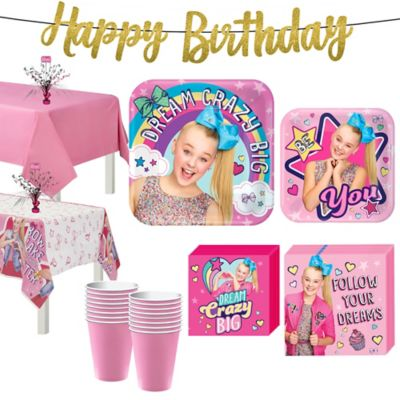 Jojo Siwa Basic Party Kit For 16 Guests Party City