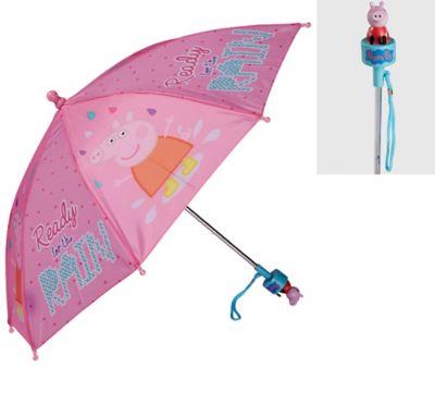 Peppa Pig Children/'s Umbrella Blue /& Pink