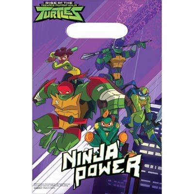 8Ct Unique Teenage Mutant Ninja Turtles Party Invitations