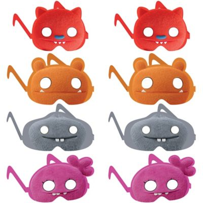These UglyDolls Paper Glasses are designed to look like ...