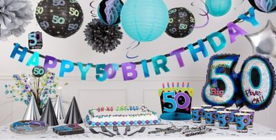 The Party Continues 50th Birthday Party Supplies ... & The Party Continues 50th Birthday Party Supplies | Party City