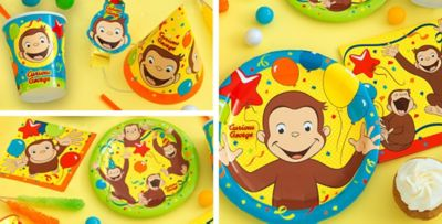 Curious George Party Supplies  sc 1 st  Party City & Curious George Party Supplies - Curious George Birthday | Party City