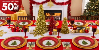Classic Christmas Tree Party Supplies & Classic Christmas Tree Christmas Party Supplies | Party City