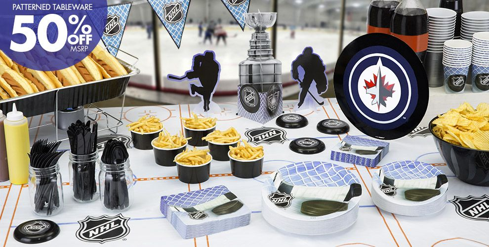 NHL Winnipeg Jets Party Supplies