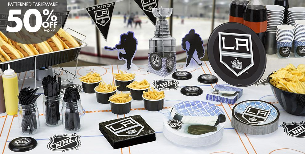 NHL Los Angeles Kings Party Supplies
