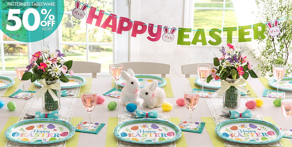 Egg-citing Easter Party Supplies