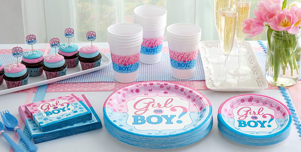 Girl or Boy Gender Reveal Party Supplies | Party City