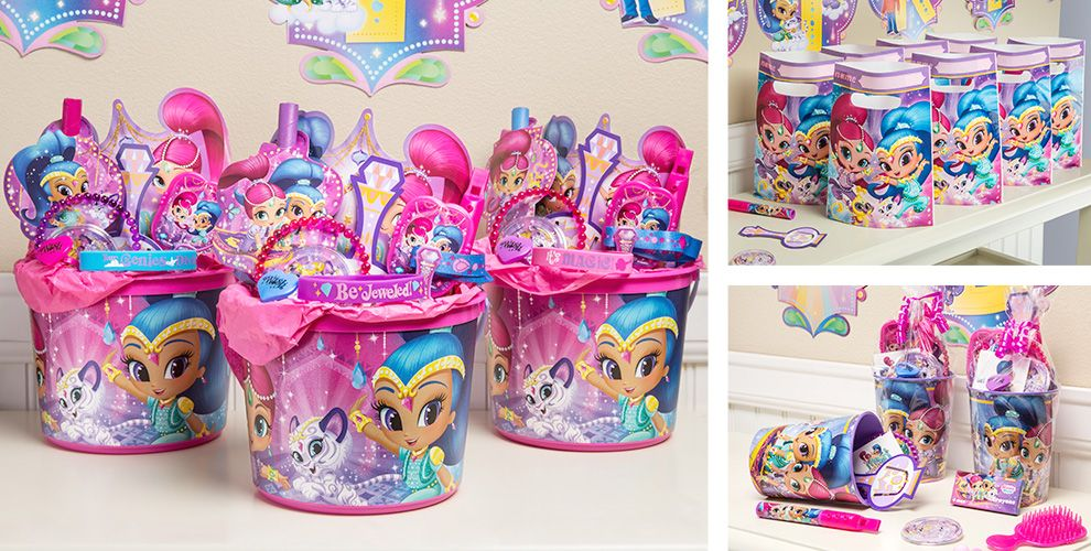 Shimmer and Shine Party Favors