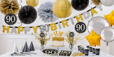 Sparkling Celebration 90th Birthday Party Supplies Party City