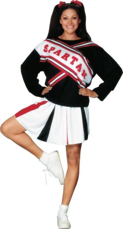 d42fae3f8 SNL Spartan Cheerleader Costume for Women
