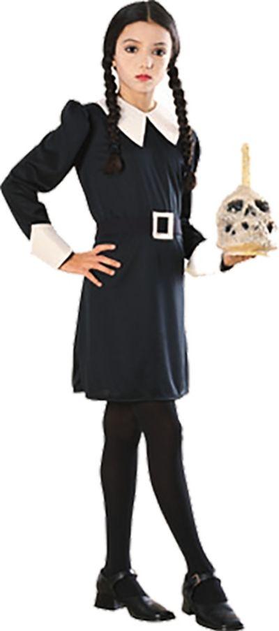 Girls Wednesday Addams Costume - The Addams Family