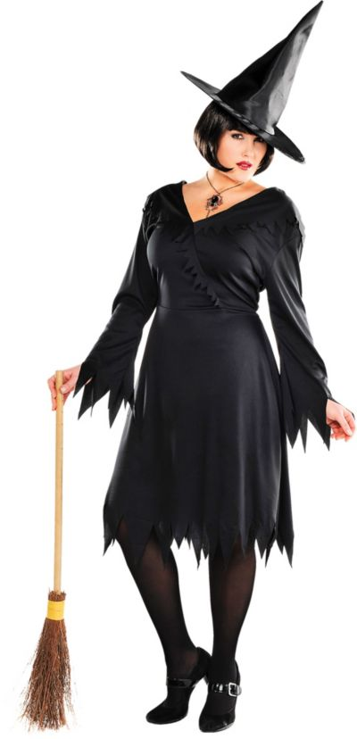 Plus Size Sorceress Costume |Plus Size Halloween Costumes Witch