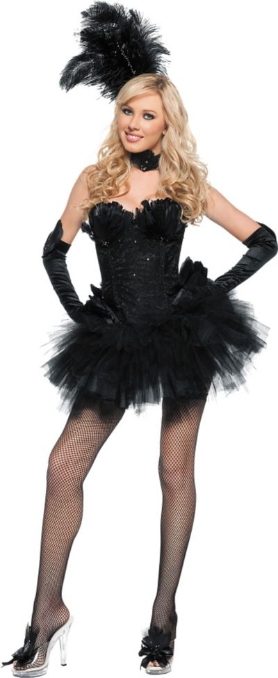 17536d695a Adult Black Swan Costume | Party City