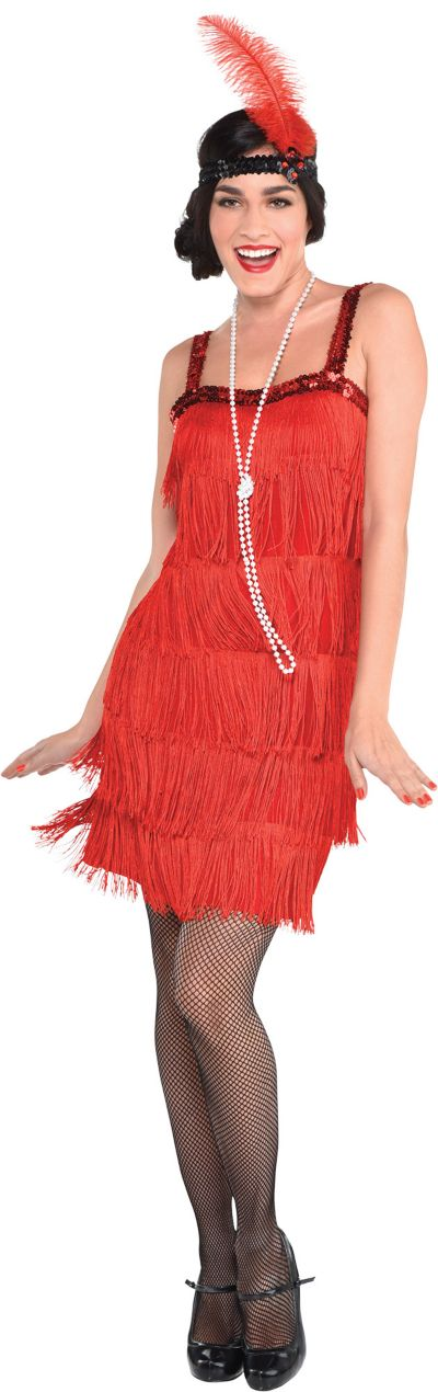 Red Flapper Dress for Women   Party City