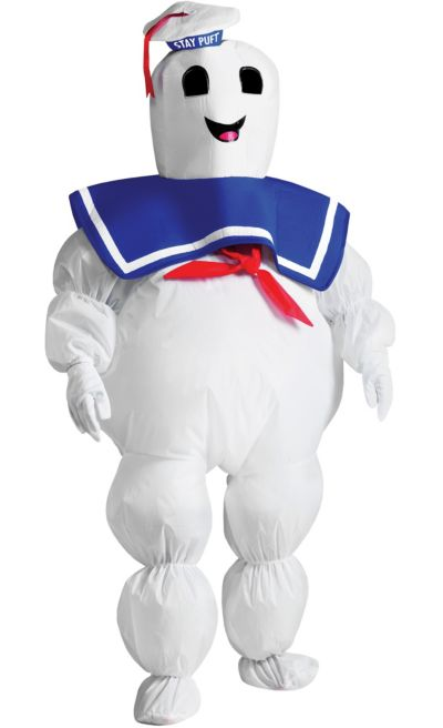 boys ghostbusters stay puft marshmallow man costume