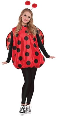 sc 1 st  Party City & Adult Darling Ladybug Costume   Party City