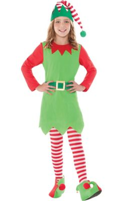 sc 1 st  Party City & Girls Elf Costume | Party City Canada