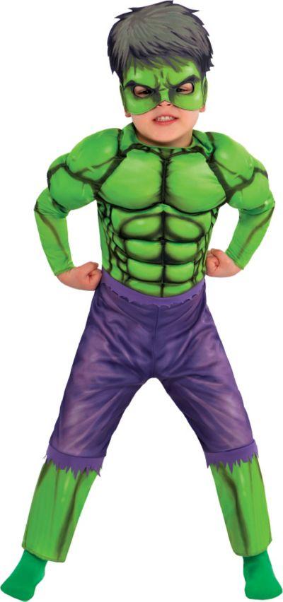 Hulk Toddler Boys Deluxe Costume New Kids Super Hero Hiro Boy Child